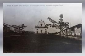 Capela de S. Gonçalo do Amarante - Construção: 1632 - Praça S. Gonçalo do Amarante - Penedo-AL (Brasil)