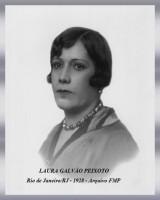LAURA GALVÃO PEIXOTO - Rio de Janeiro (RJ) - 1928 - Arquivo FMP-2017