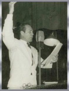 Freitas Cavalcanti - Senador da República em 1955/1961.